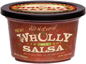 wholly salsa mild