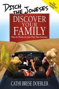 ditch the joneses discover your family cover