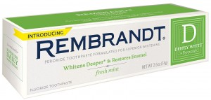 rembrandt deeply white plus peroxide fresh mint toothpaste