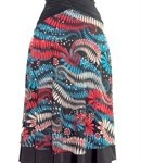 diane kroe reversible resort dress as a skirt