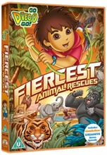 go diego go fiercest animal rescues dvd cover