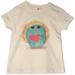 exhibit kids fuzzy monster t-shirt