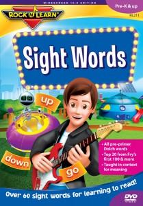 rock n learn sight words box art