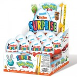 case of kinder eggs