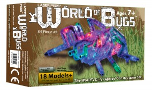 laser pegs world of bugs kit