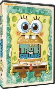 spongebob's truth or square box art