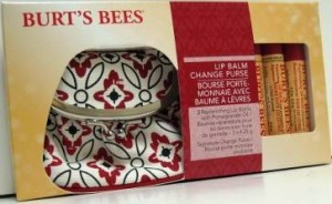 burt's bees lip balm change purse