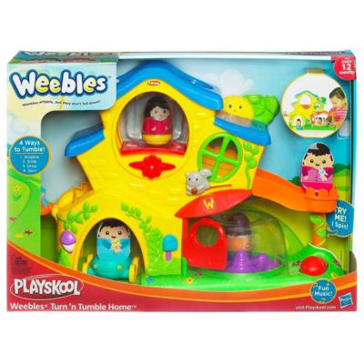 weebles turn n tumble home playset