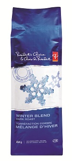 PC Winter Blend Dark Roast ground coffee