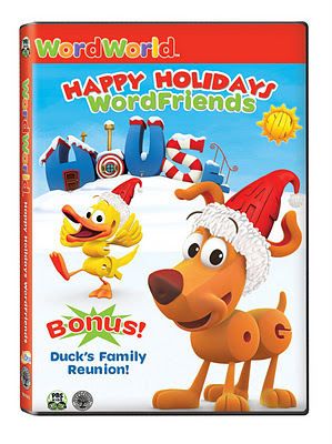 WordWorld Happy Holidays WordFriends box art