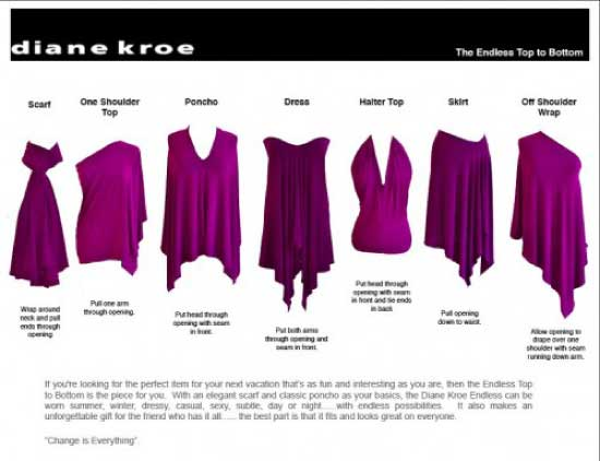 diane kroe the endless top to bottom style sheet
