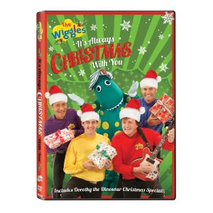 the wiggles it's always christmas with you box art