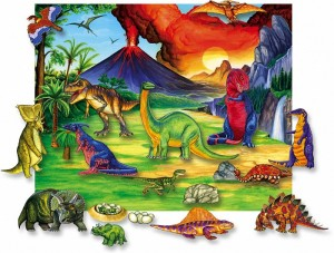 betty lukens learning fun with felt days of the dinosaurs set
