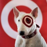 target stock photo with dog