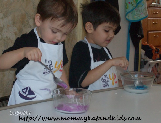 boys making gak