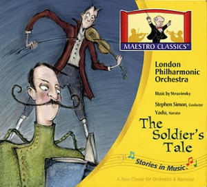 maestro classics the soldier's tale box art