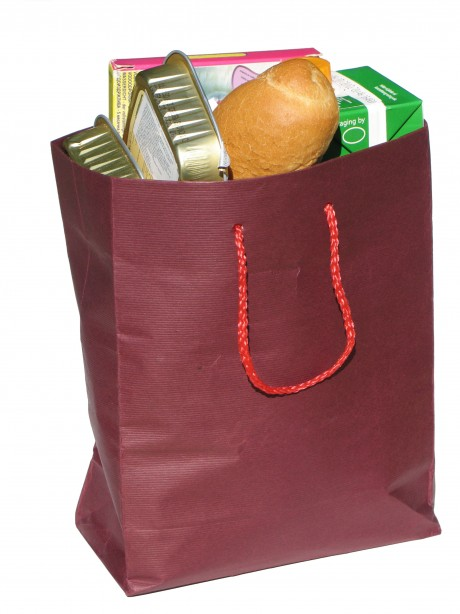 groceries in bag