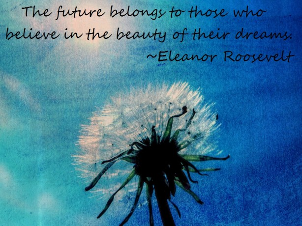 quote about dreams from eleanor roosevelt