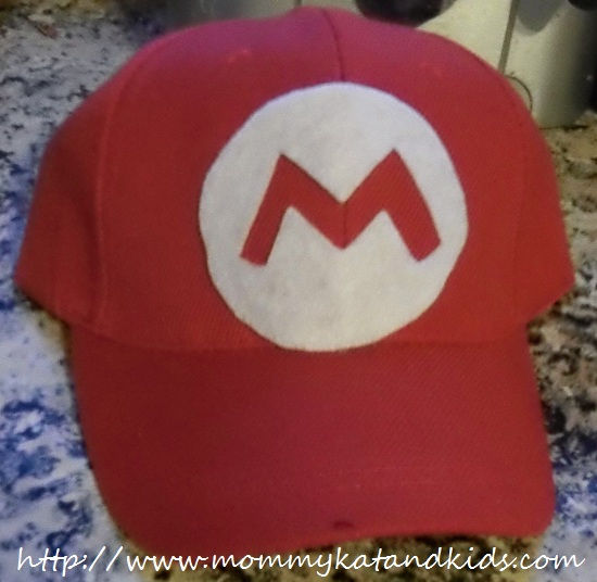 mario customized ball cap