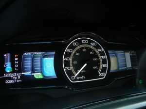2012 lincoln mkz dashboard