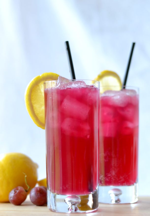 sparkling grape lemonade purple punch recipe