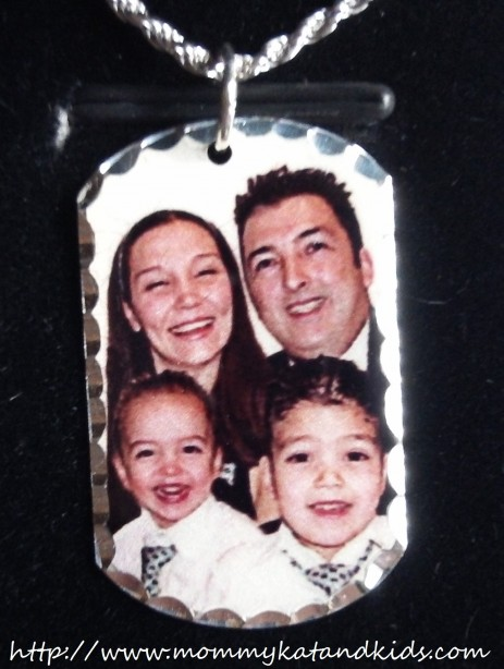 lavallee family picturesongold father's day dog tag