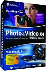 corel photo and video x4 ultimate bundle