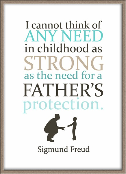 fatherhood quote by sigmund freud
