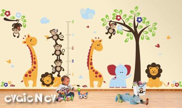 evgie zoo animals growth chart