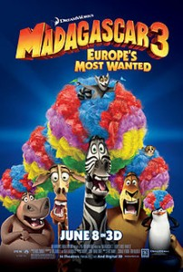 madagascar 3 movie poster