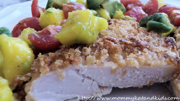 asiago spicy ranch chicken with salsa
