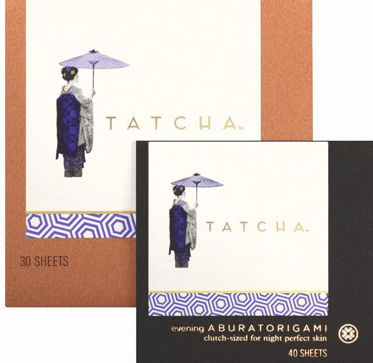 tatcha beauty papers