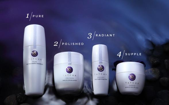 tatcha four step ritual