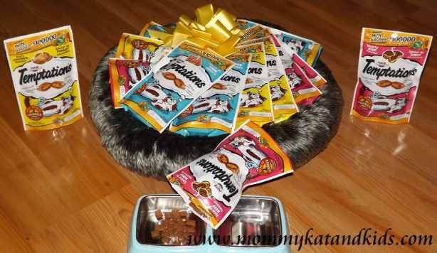 whiskas temptations prize pack