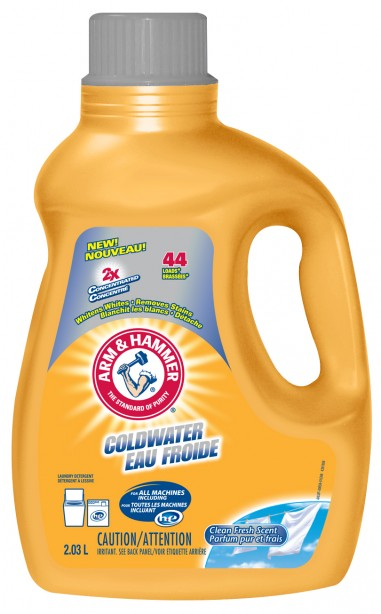 arm and hammer cold water