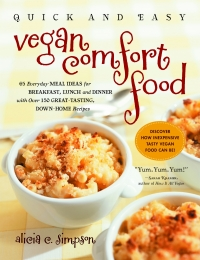 quick and easy vegan comfort food cover
