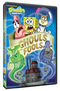 spongebob squarepants ghouls fools box art