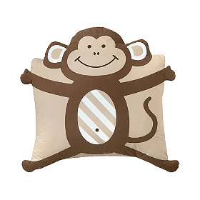 company kids pillowcase friends monkey
