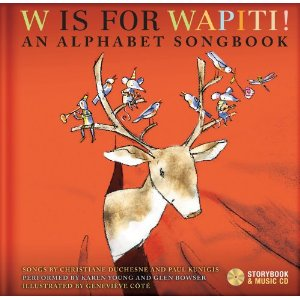w is for wapiti cover art