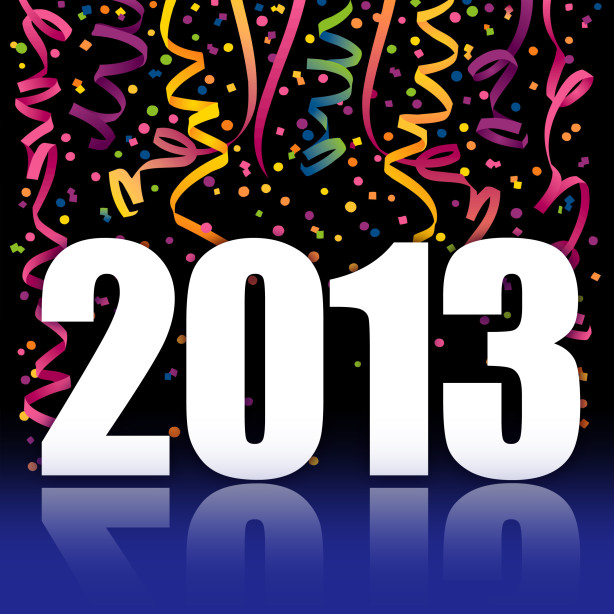 2013 new year graphic