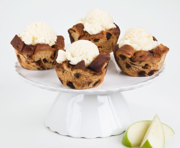 sun-maid raisin bread cupcakes
