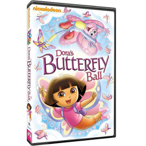 dora's butterfly ball box art