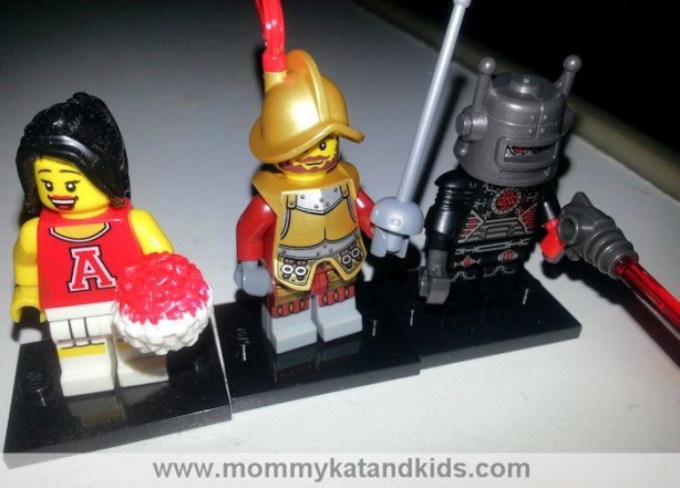 happy lego minifigures