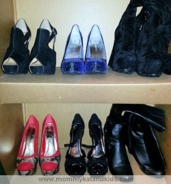 assortment of sexy shoes