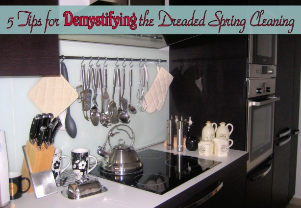 five tips spring cleaning