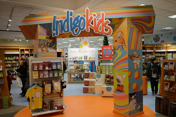 indigo kids play area