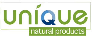 unique natural products logo
