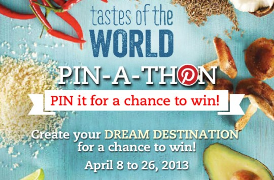 sobeys tastes of the world pinathon