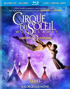 cirque du soleil worlds away box art