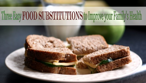 easy food substitutions good health